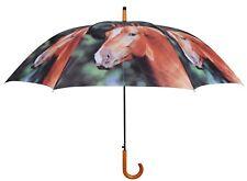 WunderschöNen Regenschirm Pferd Pferde 4 Verschiedene Motive Taschenschirm Durchmesser 92 Cm Zu Verkaufen Reisen