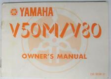 YAMAHA V50M/ V80 1979 #2J6-28199-21 Moped Owners Handbook