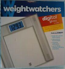 Conair Weight Watchers Digital Glass Scale Bathroom Scale
