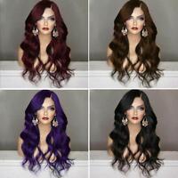 Synthetic Body Wavy Wig For Black Women Long Full Wavy Wigs 25.5 inches POP