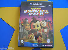 SUPER MONKEY BALL ADVENTURE - GAMECUBE - Wii Compatible