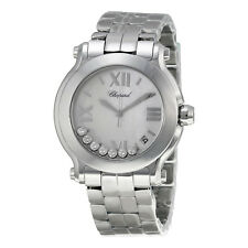 Chopard Happy Sport Ladies Diamond Watch 278477-3002