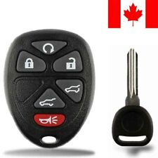 1x New Replacement Keyless Entry Remote Control Key Fob For GMC Chevy Cadillac