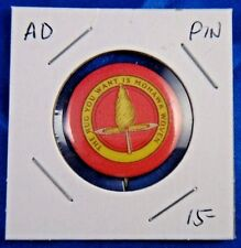 "The Rug You Want Is Mohawk Wowen Advertising Pin Pinback Button 1"" Whitehead NJ"