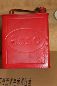 Vintage Collectable ESSO Petrol Can 1 Gallon Approx Brass Cap England