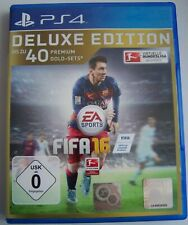 Fifa 16 / Delux Edition / 40 Gold Sets - DEUTSCH - Playstation / PS4