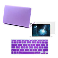 "Matte Hard Case/Keyboard Skin/Screen Protector for MacBook Air Pro 11""12""13""15"""