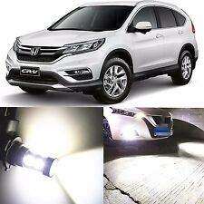 Alla Lighting Fog Light H11 6000K White LED Bulbs for 07~16 Honda CR-V CR-Z CRV