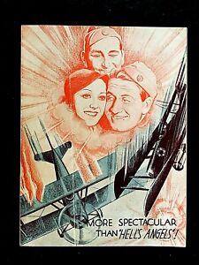 SKY DEVILS 1932 ORIGINAL MOVIE HERALD - SPENCER TRACY, WILLIAM BOYD, ANN DVORAK