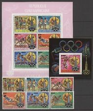 Olympiade 1980, Olympic Games, Space - Zentralafrika, ZAR - ** MNH