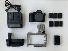 Sony Alpha A7S II 12.2MP Digital Camera, 6 batteries, cage and low shutter 3106