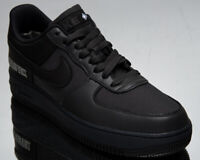 Nike Air Force 1 Gore-Tex Men's Black Anthracite Casual Lifestyle Sneakers Shoes