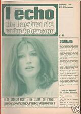▬►ECHO ACTUALITÉS N°48 de 1968 SOLGA GEORGES-PICOT