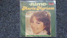 Marie Myriam - Aime 7'' Single GERMANY