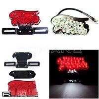 "Motorcycle LED Brake Tail Light Running Light Red ""Jack"" For Harley Honda Suzuki"