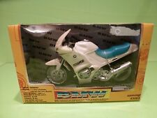 NEW RAY 43563 MOTORCYCLE BMW R1100RS -  IVORY 1:12 - GOOD IN BOX