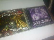 AVENGED SEVENGOLD 2 CD LOT CITY OF EVIL SOUNDING THE SEVENTH TRUMPET