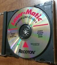 Recoton Laser-Matic CD Laser Lens Cleaner 1994 Used