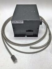 LUXTRON MODEL 0201 MONOCHROMATOR w/ Fiber Optic Cable / SEMICONDUCTOR