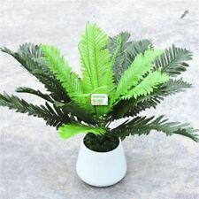 18 Leaf 47cm Artificial Palm Fern Bush Plant Pot Tree in Wedding Home Decor