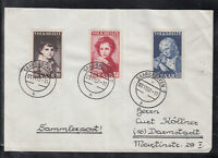 SAAR THE SAARLAND of beautiful Cover FDC 1952 - National Relief Fund