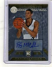 #8/10 (ONLY 10) 2013-14 TOTALLY CERTIFIED GOLD AUTO AUTOGRAPH RAY McCALLUM RC $$