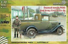 Zebrano 1/72 (20mm) GAZ-4 Russian Pick Up Truck
