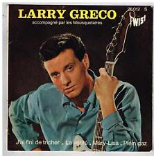 """Larry GRECO     Mary Lisa     7"""" EP 45 tours"""