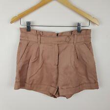Forever New Shorts Size 8 Linen Blend