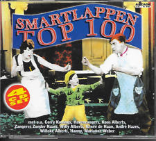 V/A - Smartlappen Top 100 (4 x CD BOX) 100TR (ARCADE) Holland 1998 Corry Konings