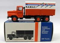 Lion Car 1/50 Scale Nr.72 DAF 2800 Covered Truck N.A.M.A.C Model Truck