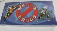 Vintage War on Drugs Board Game 1989 Cpt. Drug Free & Dopehead New Sealed