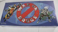 Vintage War on Drugs Board Game 1989 Cpt. Drug Free & Dopehead New Sealed