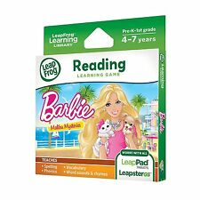 LeapFrog Learning Game: Barbie Malibu Mysteries Reading for LeapPad