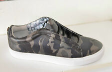 New Steve Madden Elian Slip-On Camouflage Sneaker Trainers Shoes Loafers UK 6.5