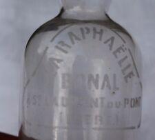 ancienne petite bouteille la raphaelle bonal st Laurent du pont ( Isère )