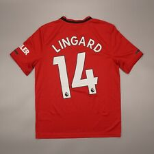 NWOT Lingard Manchester United Home 2019 2020 Football Shirt Adidas Youth Size L