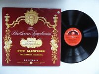 Beethoven Symphony No 5 Otto Klemperer Vinyl LP Columbia 33CX 1721
