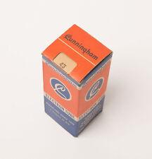 CUNNINGHAM 43 Vacuum Tubes - NOS - Original Box - Tube Radio - 3 available