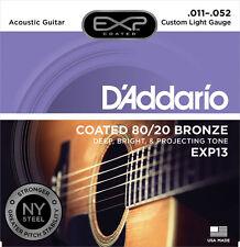 D'Addario EXP13 Cubierto 80/20 Bronce 011-052