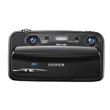 USED Fujifilm FinePix REAL 3D W3 10.0MP Digital Camera - Black Excellent