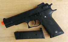 Airsoft Gun Double Eagle P239B Black Spring Powered 1911 Style Pistol 6mm BB BBs