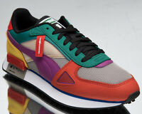 Puma x The Hundreds Future Rider HF Men's Red Green White Multi-Color Sneakers