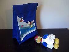 NEW Walter Lantz WOODY WOODPECKER Astronaut Blue Lunch Bag Cooler box +plush toy