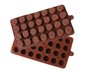 Mini Coffee Bean Silicone Mold Chocolate Jelly Ice Tray Mould