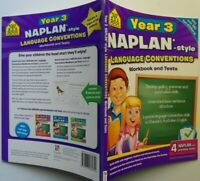 School Zone Year 3 NAPLAN*-Style Language Conventions  Workbook & Tests    2012