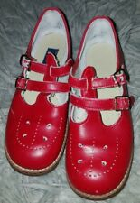 Amilio Red Mary Jane Shoes