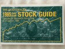 Standard & Poor's (S&P) Stock Guide for The Plain Dealer, Year End 1995
