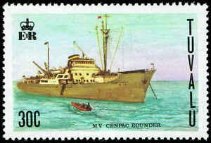 Scott # 79 - 1978 - ' Freighter Cenpac Rounder '