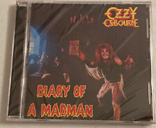 OZZY OSBOURNE - DIARY OF A MADMAN - NEW, SEALED CD! RANDY RHOADS, BLACK SABBATH!